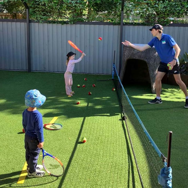 Kids Tennis Lessons Coorparoo Childcare